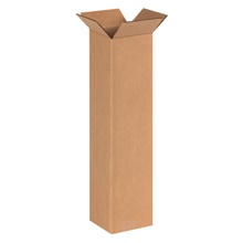 "6 x 6 x 24"" Tall Corrugated Boxes"