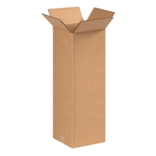 "8 x 8 x 20"" Tall Corrugated Boxes"